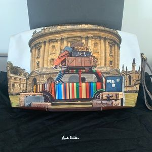 """Paul Smith travel bag """"NEW"""" with box and dust bag"""